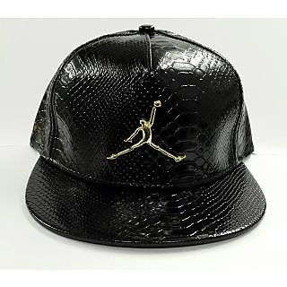2026f0a3bc8 Jordan Leather Snapback   Hiphop Cap In India - Shopclues Online
