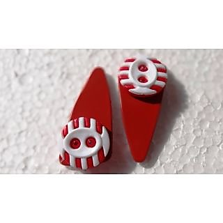 Red Button Tic Tak Pins