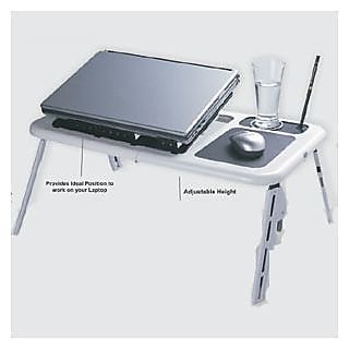 E-Table E Table , Cooling Pad Portable Laptop Stand with 2 Cooling Fans Etable12