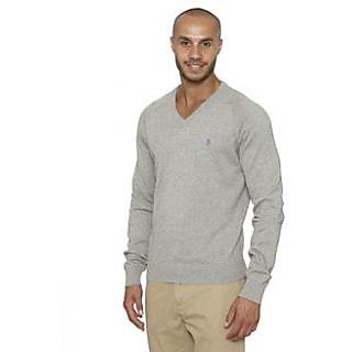 Men's Woolen T-Shirt Grey