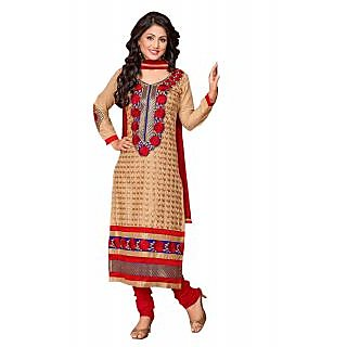 Florence Chikoo akshrapluscotton-1 Embroidered Cotton Suit