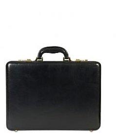 Stamp Leather Elegant Leather Men Suitcases BC033BK