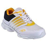 Yepme Parade Sports Shoes - White & Yellow