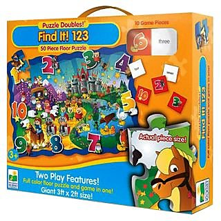 Learning Journey Puzzle Doubles - Find It! 123