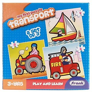 Frank First Puzzles - Transport