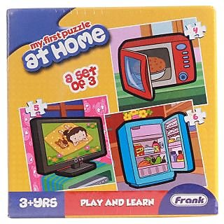 Frank First Puzzles  -  At Home