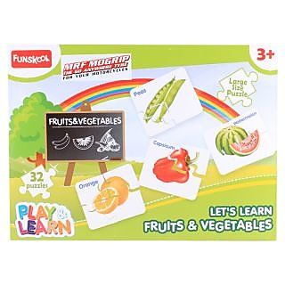 Funskool Fruits And Vegetables Puzzle