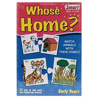 Smart Whose Home Puzzles - 42 Pieces