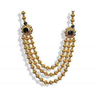 Womens Trendz Jav Mani Triveni Haar Necklace