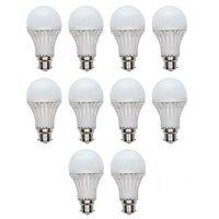 12W White LED Bulbs(Pack Of 10)