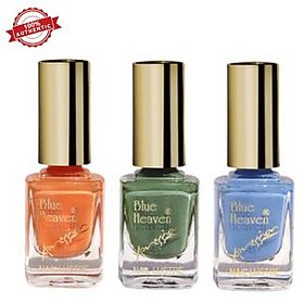 Blue Heaven Combo of 3 Xpression Nail Paint (903, 904 & 907)