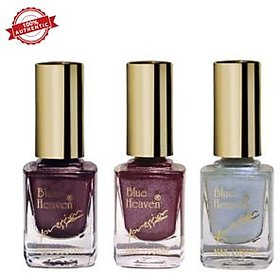 Blue Heaven Combo of 3 Xpression Nail Paint (964, 945 & 912)