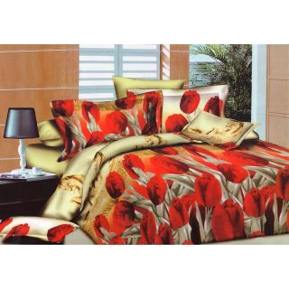 Homefab India 3d Double Bed Sheet With 2 Pillows Cover (DREAMS055)