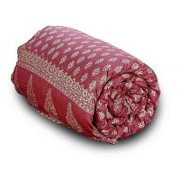 Stylish Jaipuri Print Cotton Double Bed Comforter 612