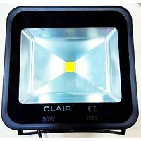 Branded Clair 50W LED Flood Light Pure Cool White AC Indoor Outdoor Lightning