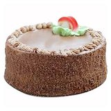 Floral Mall Eggless Chocolate Cake