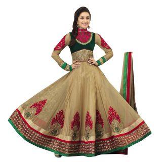 First Loot Shraddha KapoorS Wedding Net Anarkali Suit