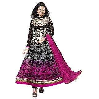 First Loot Ayesha TakiaS Wonderful Floral Printed Georgette Anarkali Suit