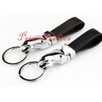 Jaguar Leather Keychain Full Metallic Keychain For Bike And Car