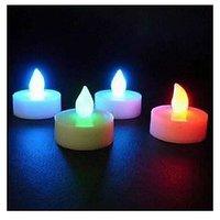12pcs 7 Colour Change Tea Light LED Candles