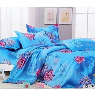 Surprise Double Bedsheet With Pillow Covers Le-Cs-006