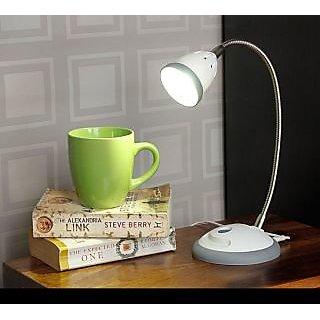 Renata LED Desk Gray