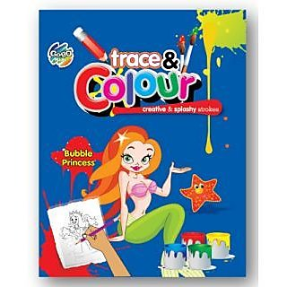 Pack of 4 Trace & Color Book
