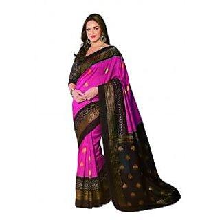 Bhavi Embellished Sanganeri Silk Sari (BH11908)
