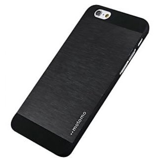 Motomo Hard Back Cover for Apple iPhone 6+ Plus- Black