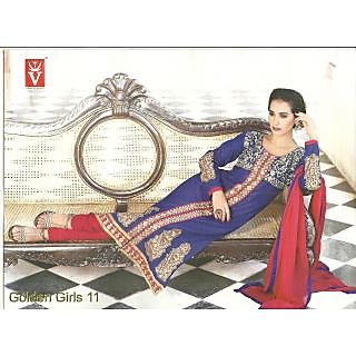 Latest Embroided Cotton Suit Dress Material (Unstitched)