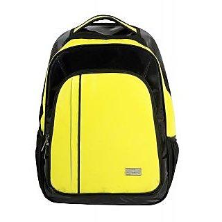 15 Laptop Backpack by Pragmus Innovation (Yellow)