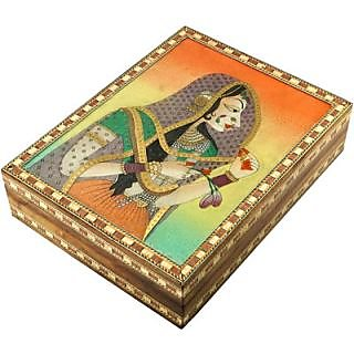 Jewelary box, Jewellary box, Gem Stone Jewelary Vanity box for personnel use and Gift (GS5)