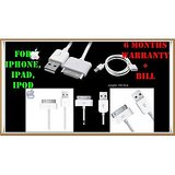 USB 2.0 Charging Data Sync Cable For Apple IPhone 2G 3G 4G 4S IPad IPod Classic