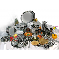 United High Quality Stainless Steel 51 Pcs Dinner Set