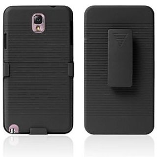 Bracevor Holster Combo with Kick Stand Hard Case for Samsung Galaxy Note 3