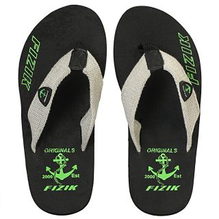 733a6b05d FIZIK MEN S FITCH FLIP FLOP BLACK GREEN