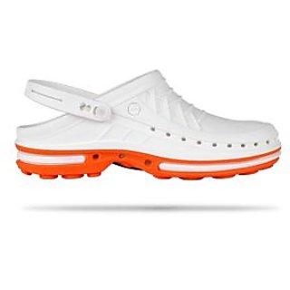 Wock Clog Acupressure Shoes White
