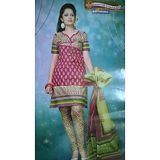 Karishma Cotton Unstiched Salwar Material (Unstitched)