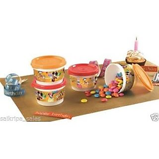 Tupperware Disney Snack Cups (4 Pcs)