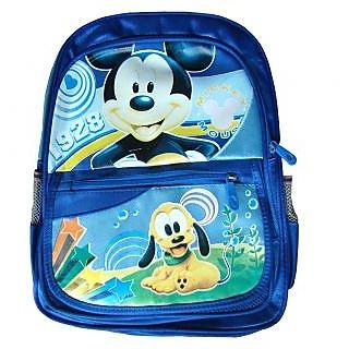 Kids School Bag for Nursery  - 3 to 7 Years - Dark Blue