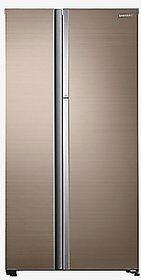 Samsung 674 Litres 3 Star Frost Free Double Door Refrigerator  RH62K60177P/TL, Refined Gleam