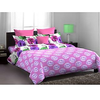 Home Expressions Usa Callidora Double Bed Sheet Pink