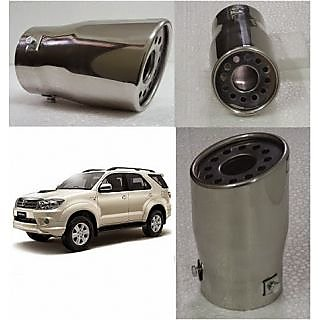 Car Exhaust Muffler Tip Pipe For Toyota Fortuner Straight Pipe