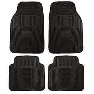 Black Colour Rubber Foot Mats For Car Floor Ford Ikon At Best
