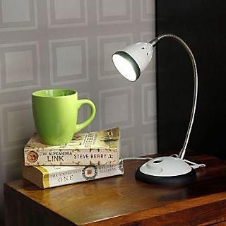 LED Desk Light - Illumina - Cool White Light-Black