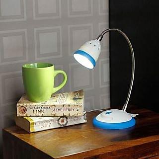 LED Desk Light - Illumina - Cool White Light-Blue