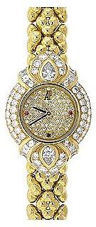 Women'S Diamond Studded Gold Watch