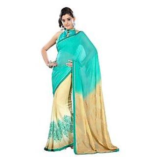 Bhavi Embellished Sari with Border (BHSA1317)