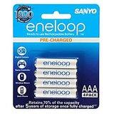 Sanyo Eneloop 4AAAx800mAh HR-4UTG-B4BTM Rechargeable Batteries