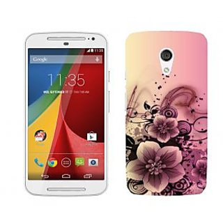 Wow Premium Design Back Cover For Motorola Moto G (2nd Gen) PNTMTG2A01424